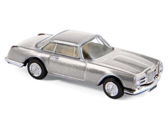 NOREV NV453005 FACEL VEGA II COUPE 1961 SILVER 1:87 Modellino