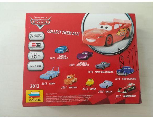Zvezda 2012 Lightning McQueen -Disney Cars 1:43