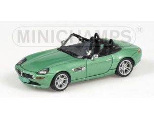 MINICHAMPS 431028741 BMW Z8 2001 VERDE METALIZZATO Modellino