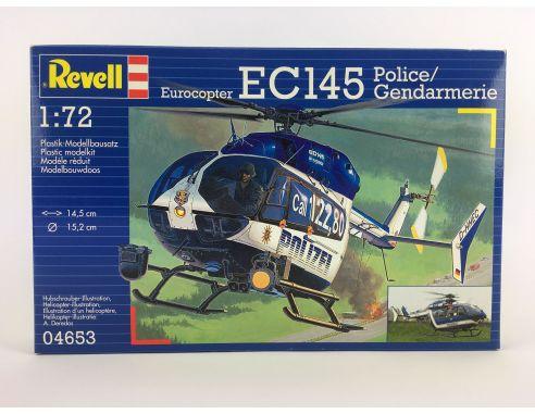 EC145 Police / Gendarmerie Eurocopter Revell Scala 1:72 SCATOLA ROVINATA