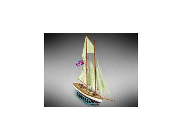 copy of Mini Mamoli MV37  H.M.S. Halifax Schooner coloniale 1774 Kit Navi 1:54 Modellino