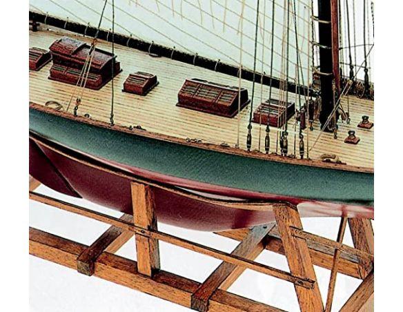 copy of Mini Mamoli MM09 Britannia Kit yatch in legno 1:122 Modellino