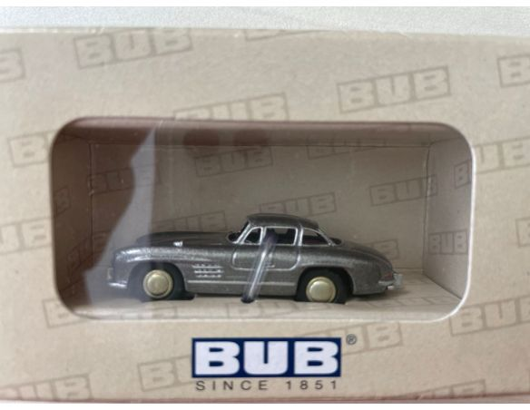 Bub 06704 MB 300SL COUPE' GREY METAL 1/87 Modellino