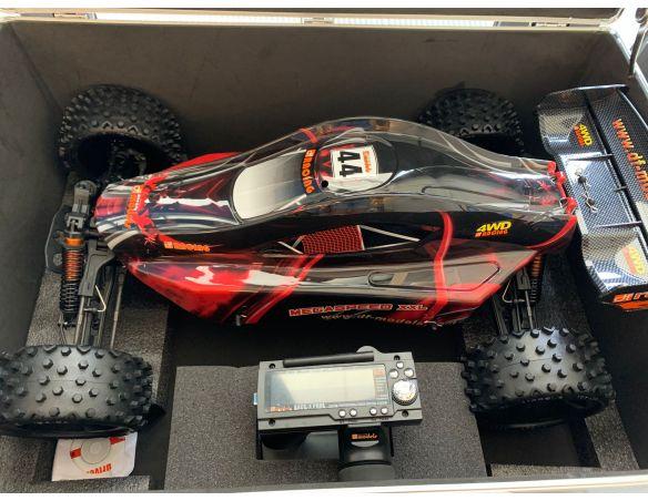 DF Models 3401 MegaSpeed XXL 4WD RC Buggy Pro Monster 1:6 Radiocomando