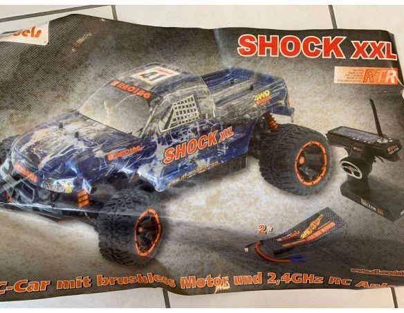 DF Models 3422 Shock XXL 4WD RC Truck Pro Monster 1:5 Radiocomando