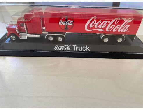 Coca Cola Truck Scala 1/87 Lemke Collection Modellino SCATOLA E PRODOTTO DANNEGGIATI