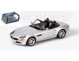 MINICHAMPS 436028730 BMW Z8 SILVER 007 J. BOND Modellino