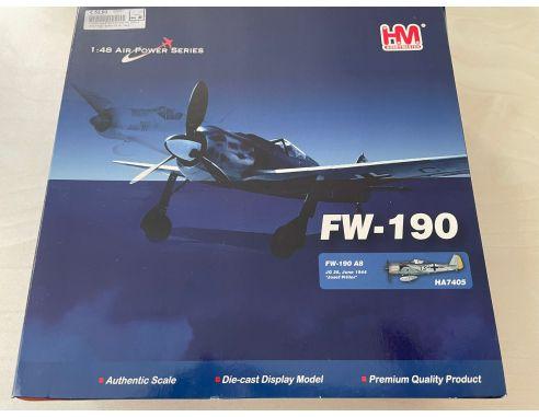 Hobby Master HA7405 FW 190A-8 Josef Pips Modellino SCATOLA ROVINATA