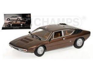Minichamps PM436103320 LAMBORGHINI URRACO 1972 BROWN 1:43 Modellino