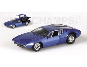 MINICHAMPS 436127122 DE TOMASO MANGUSTA 1969 BLUE Modellino