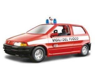Bburago 22041 FIAT PUNTO VIGILI DEL FUOCO 1/24 Modellino