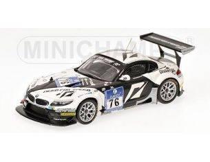 Minichamps PM437102076 BMW Z4 GT3 N.76 NURBURGRING 2010 1:43 Modellino