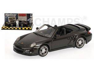 Minichamps PM519436930 PORSCHE 911 TURBO (997 II) 2009 GREY MET.TOP GEAR 1:43 Modellino