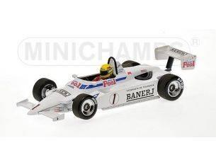 MINICHAMPS 540831811 RALT RT3 TOYOTA CHAMPION 1983 AYRTON SENNA Modellino