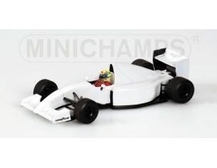 Minichamps PM540934399 MC LAREN LAMBORGHINI A.SENNA 1993 1:43 Modellino
