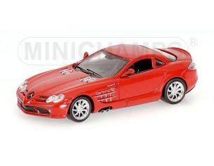MINICHAMPS 640037120 MERCEDES BENZ SLR McLAREN 2003 RED Modellino