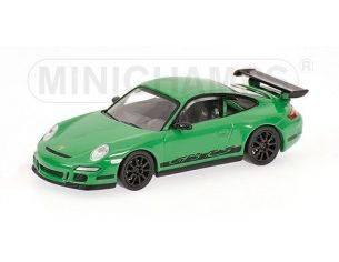 MINICHAMPS 640066000 PORSCHE 911 GT3 RS 2006 GREEN Modellino