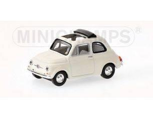 MINICHAMPS 640121504 FIAT 500 WHITE 1968 Modellino