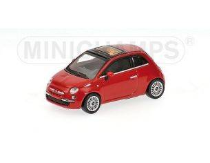 MINICHAMPS 640121700 FIAT 500 RED 2007 Modellino