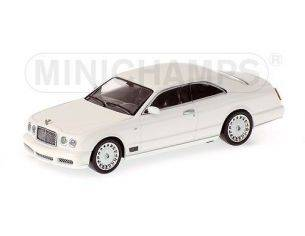 MINICHAMPS 640139620 BENTLEY BROOKLANDS 2006 WHITE Modellino