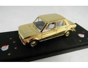 Miniminiera ROM01 FIAT 128 GOLD LIMITED EDITION NATALE Modellino