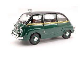 Miniminiera T74311 FIAT 600 MULTIPLA TAXI ROMA 1/18 Modellino