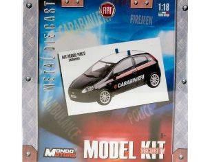 Mondo Motors MM67007 FIAT GRANDE PUNTO CARABIN.KIT 1:18 Modellino