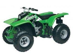 Motor Max 76254 KAWASAKI MOJAVE 250 ATV 1/6 Modellino
