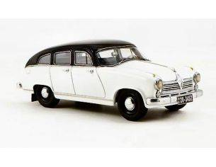 Neo Scale Models NEO43452 BORGWARD H 2400 1955 WHITE/BLACK 1:43 Modellino