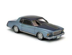 Neo Scale Models NEO44790 CHEVROLET MONTECARLO 1978 2 TONE BLUE MET.1:43 Modellino