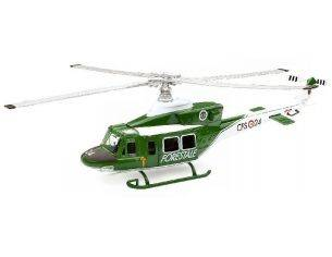New Ray NY25763 ELICOTTERO AGUSTA BELL AB412 CORPO FORESTALE 1:48 Modellino