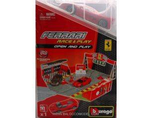 Bburago BU31209 FERRARI OPEN & PLAY SET ASS.1:43 Modellino
