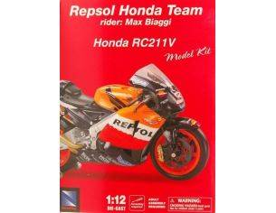New Ray NY42295 HONDA M.BIAGGI 2005 KIT 1:12 Modellino