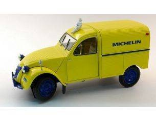 Norev NV181502 CITROEN 2 CV FOURG.MICHELIN 1:18 Modellino