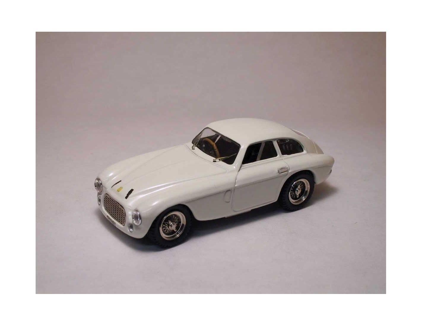 Art Model AM0002 FERRARI 166 MM COUPE' 1950 WHITE 1:43 Modellino