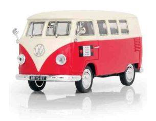 Norev 840216 VW T1 KOMBI WHITE & RED 1/43 Modellino