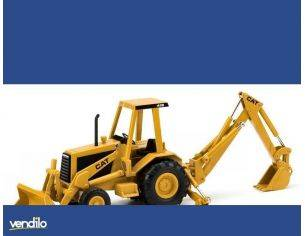 Norscot NR55271 CAT 416 BACKHOE LOADER 1:32 Modellino